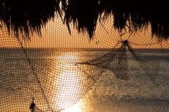 Rete da pesca Immagine Stock