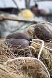 Rete da pesca e boe Fotografia Stock Libera da Diritti