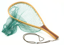 Rete dei pesci della trota Immagine Stock