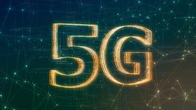 rete del cellulare 5G Fotografie Stock Libere da Diritti