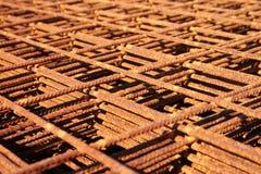 Rete del ferro Fotografia Stock