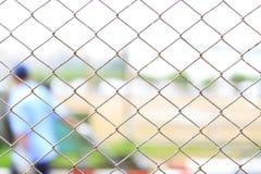 Rete del metallo della gabbia Fotografia Stock Libera da Diritti