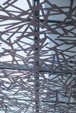 rete del metallo sulla finestra Fotografie Stock Libere da Diritti