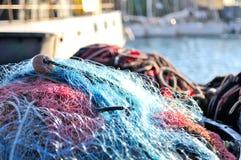 Rete del pescatore Immagine Stock