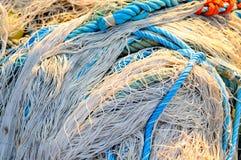 Rete del pescatore Immagini Stock