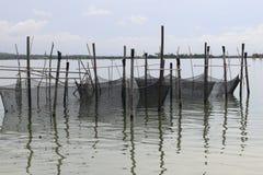 Rete del pescatore Fotografie Stock Libere da Diritti