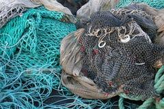 Rete del pesce Fotografia Stock