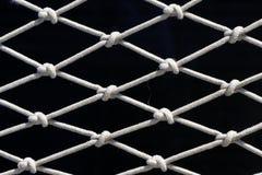 Rete della corda fotografia stock libera da diritti