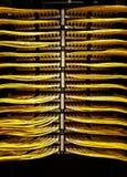Rete della stanza di dati Fotografia Stock Libera da Diritti
