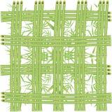 Rete di bambù Fotografia Stock