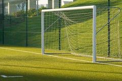 Rete di calcio fotografia stock libera da diritti