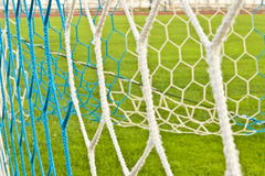 Rete di calcio Immagine Stock
