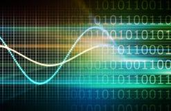 Rete di obbligazione di Cyber Immagini Stock Libere da Diritti