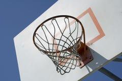 Rete di pallacanestro Fotografia Stock