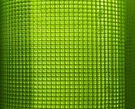 Rete di plastica verde Fotografie Stock Libere da Diritti