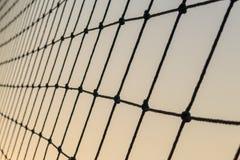 Rete e cielo, struttura di rete Fotografia Stock Libera da Diritti