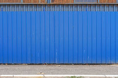 Rete fissa blu Fotografie Stock