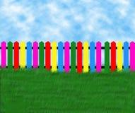 Rete fissa colorata Fotografia Stock