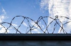 Rete fissa con un filo Fotografia Stock Libera da Diritti