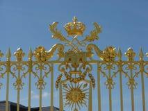 Rete fissa del palazzo reale Fotografie Stock