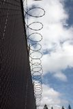 Rete fissa della prigione. Immagini Stock