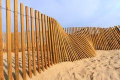 Rete fissa della spiaggia Immagine Stock Libera da Diritti