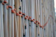 Rete fissa di bambù fotografie stock