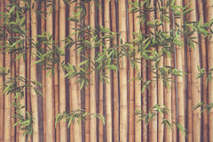 Rete fissa di bambù fotografia stock