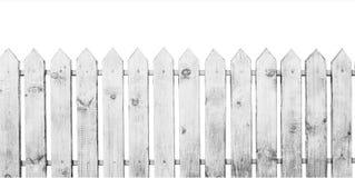 Rete fissa di legno bianca Immagini Stock Libere da Diritti