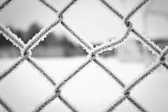 Rete fissa gelida fotografia stock