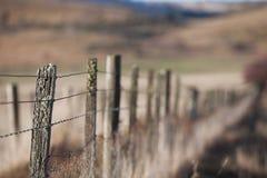 Rete fissa rurale fotografie stock libere da diritti