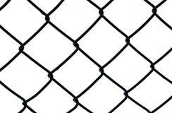 Rete fissa scura di collegamento chain Fotografia Stock Libera da Diritti