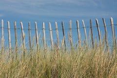 Rete fissa su una spiaggia Immagine Stock