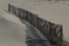 Rete fissa sulla spiaggia Fotografia Stock Libera da Diritti