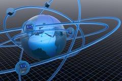 Rete globale illustrazione vettoriale