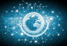 Rete globale Immagini Stock