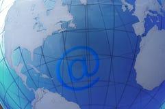 Rete globale Fotografie Stock