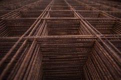 Rete metallica saldata Fotografia Stock Libera da Diritti