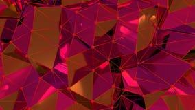 rete neurale astratta 4K illustrazione di stock