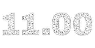 Rete poligonale 11 Un titolo di 00 testi royalty illustrazione gratis