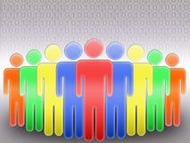 Rete sociale (06) Fotografia Stock
