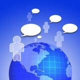Rete sociale Immagine Stock