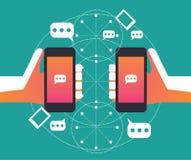 Rete sociale Vendita di Digital illustrazione di stock