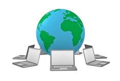 Rete wireless globale Immagine Stock