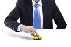Retenir un véhicule photos stock