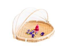 Retention food storage basket tray. Royalty Free Stock Photography