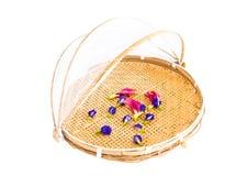 Retention food storage basket tray. Stock Image