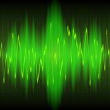 Retentissez l'abrégé sur onde d'énergie Image libre de droits