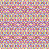 Reteo 70s Pattern Stock Photo
