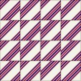 Reteo stripe seamless  pattern from  Moroccan tiles, ornaments of vinous colors. Stock Photography